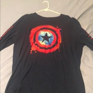 Captain America Long sleeve shirt